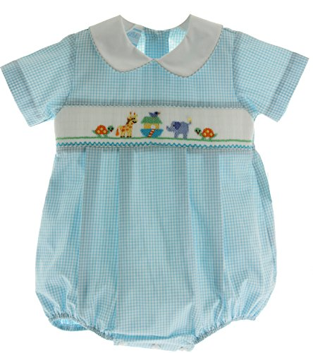 Infant Boys Noah's Ark Bubble Outfit