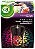 Air Wick Black Edition Colours of Nature Purple Blackberry Fig Colour Changing Candle 155 gm (Pack of Three)