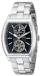 Fossil Men's ME3049 Analog Display Japanese Automatic Silver Watch