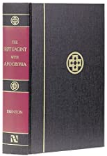 Septuagint With Apocrypha Greek and English
