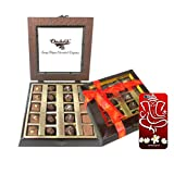 Chocholik Belgium Gifts - Assorted Chocolates With Beautiful Wooden Box With 3d Mobile Cover For IPhone 6 - Diwali...