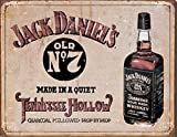 Jack Daniels Retro Sign - Distressed Look Premium Quality Heavyweight Mouse Mat #3