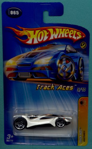 Mattel Hot Wheels 2005 1:64 Scale Track Aces White Vulture Die Cast Car #065 - 1