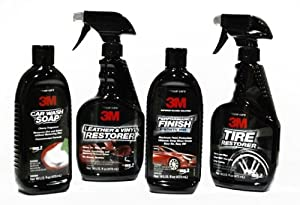 3M Professional Complete Car Care Gift Kit (Soap, Interior & Tire Cleaner, Wax). 3MGiftSet. 39000, 39040, 39042, 39030. by 3M