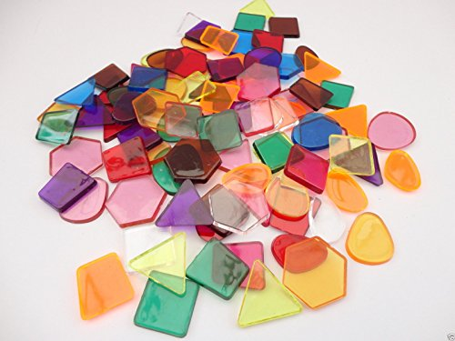 clear-colour-translucent-mosaic-plastic-shapes-tiles-art-craft-stained-glass-pack-size-50