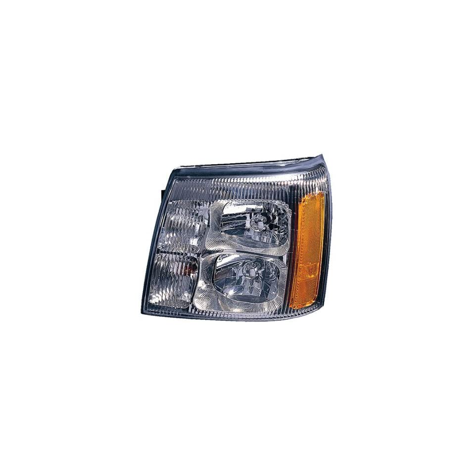 DRIVER SIDE HEADLIGHT Cadillac Escalade HEAD LIGHT ASSEMBLY; LH; WITHOUT HID