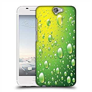 Snoogg dew drops vector background Designer Protective Back Case Cover For Asus Zenfone 6