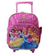 Disney Princess Rolling Backpack - Kid size Rolling Backpack