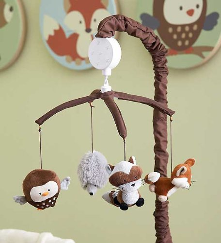 Woodland Animals Baby Bedding 2043 front