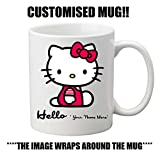 HELLO KITTY Personalised Mug, ****ADD YOUR NAME****