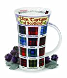 Clan Tartans of Scotland Dunoon Fine Bone China Mug Glencoe Shape