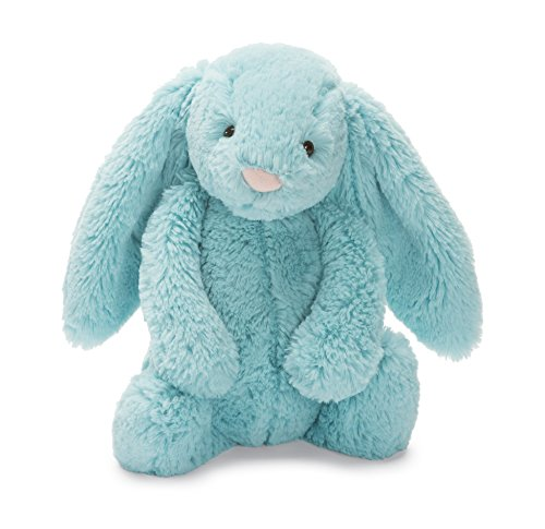 Jellycat Bashful Bunny Aqua Medium (Blue Bunnies compare prices)