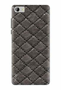 Noise Designer Printed Case / Cover for Lava X81 / Patterns & Ethnic / Lether Design