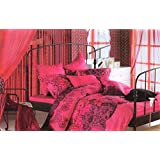 Home N Tex Symphony Premium Printed Winter Floral, Printed Comforter (Double)