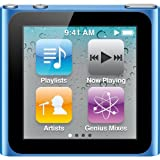 Apple iPod nano 16 GB Blue (6th Generation) NEWEST MODEL