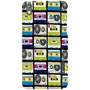 Printland Back Cover For HTC Desire 816G - Cassette Designer Cases