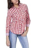 Tantra Camisa Mujer (Rojo)