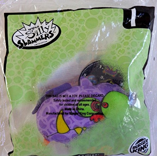 Batty Talking Plush - 1999 Burger King Silly Slammers Series - 1