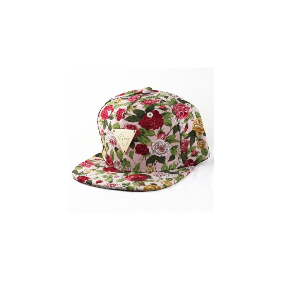 Hater Floral Snapback Hat