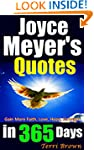 Joyce Meyer's Quotes In 365 Days: Ins...