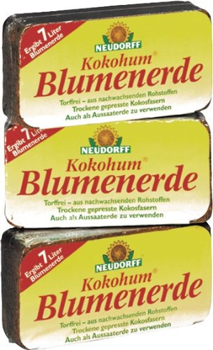 neudorff-00270-kokohum-blumen-erde-brikett-1-stuck