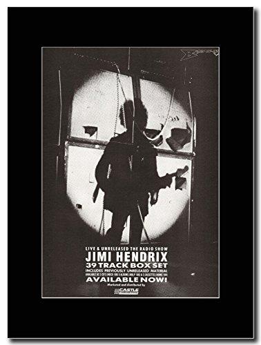 Jimi Hendrix-Live & Unreleased la Radio della Magazine Promo su un supporto, colore: nero