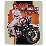 Harley-Davidson® Dreaming Embossed Tin Sign