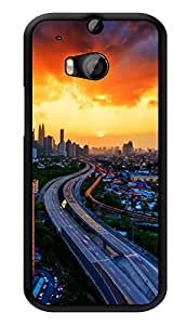 "Humor Gang Highway To City Printed Designer Mobile Back Cover For ""HTC ONE M8 - HTC ONE M8S"" (3D, Glossy, Premium Quality Snap On Case)"