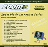 Zoom Karaoke CD+G - Platinum Artists 59: Bananarama Zoom Karaoke