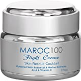 Anti Aging Face Cream To Restore Youthful Dewy Plump Skin With Organic Botanical & Marine Extracts