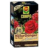 Compo 12766 NaturDünger für Rosen mit Guano 2.5 kg