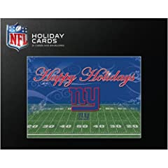 Turner New York Giants Team Christmas Cards- 21 Pack by John F. Turner