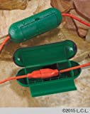 Extension Cord Safety Seal Green Set of 2