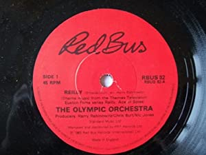 """OLYMPIC ORCHESTRA Reilly (Ace of Spies) 7"""" 45"""