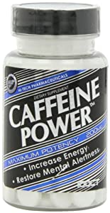 Hi-Tech Pharmaceuticals Caffeine Tablets, 200 Mg, 100 Count