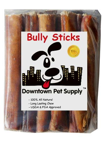 6 inch supreme bully sticks jumbo extra thick 15 pack downtown pet. Black Bedroom Furniture Sets. Home Design Ideas