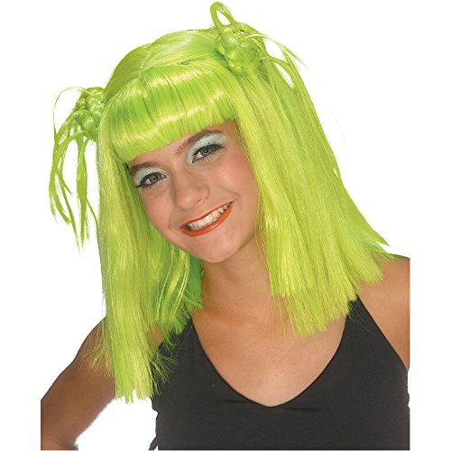 Rubie's Costume Lime Twist Wig, Green, One Size