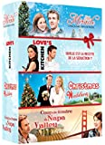 Coffret noël 2 : CHRISTMAS WEDDING + Mrs MIRACLE + LOVE'S KITCHEN + COUP DE FOUDRE A NAPA VALLEY