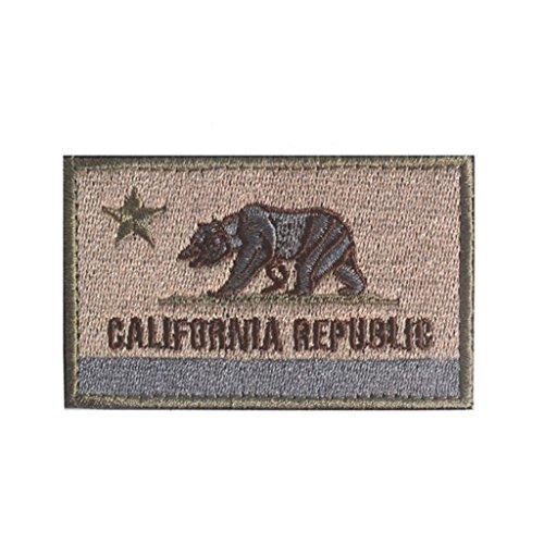 TavasDecor California Republic Tactical Patch - Multitan (Ca Republic Patch compare prices)