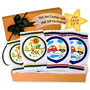 Lil' Melon Baby Knee Pads Gift Set 1