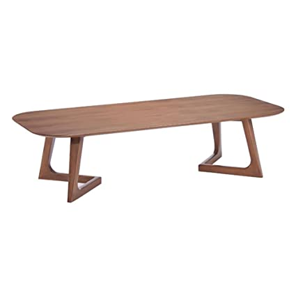 Zuo Decorative Accent Furniture Park West Coffee Table Walnut