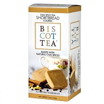 Chai Tea Biscottea Cookies