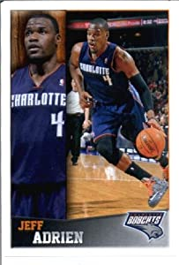 Buy 2013 2014 Panini NBA Sticker # 118 Jeff Adrien Charlotte Bobcats by NBA Stickers