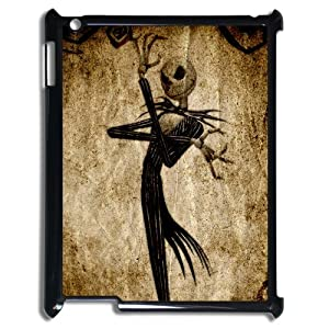 Cartoon Creative Funny Picture Of Disney Nightmare Before Christmas Jack Skellington Head Snap On Ipad 3 Case