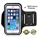 "Lifetime Warranty + FREE Screen Protector, Premium Tribe Running iPhone 6 (4.7"") Armband 