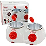 Chocolate Melting Pots- Deluxe Electric Chocolate Fondue Pots with over 30 Accessories by Good Cooking