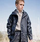 Result Childrens Waterproof Pro Coach Jacket - Size: XL - Age 11/12 - Color: Black