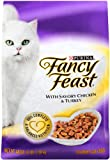 Fancy Feast Gourmet Cat Food, With Savory  Chicken & Turkey, 3-Pound Bags (Pack of 2)