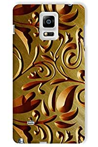 IndiaRangDe Hard Back Cover FOR Samsung Galaxy Note 4 N910F