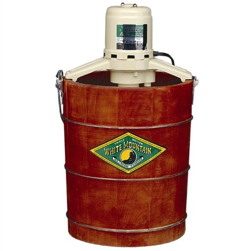 White Mountain 6-qt. Electric Ice Cream Maker
